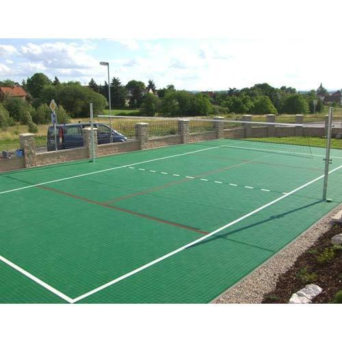 Synthetic Volleyball Court View Specifications Amp Details
