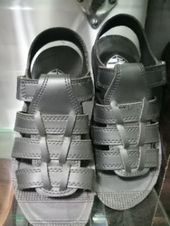 9fe6087968f6a6 men black sandals. Leather Sandals