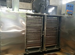Stainless Steel Automatic 150 Tray Capacity ATR Solar Dryer, Material Grade: Ss 304, Capacity: 50 To 2500 Kg