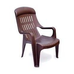 Brown Balaji Furniture Plastic Chair, for Home