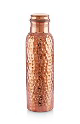 Pure Copper Water Bottle Jointless 1000ml