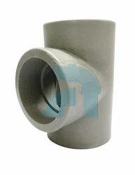PP Tee Socket Weld, for Chemical Fertilizer Pipe
