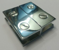 Square Bracket Glass Corner Fitting Parts