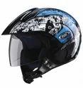 Studds Marshall Decor Open Face Helmet