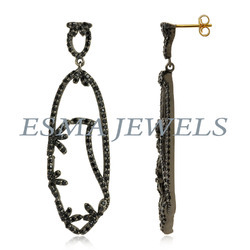 Long Diamond Earring