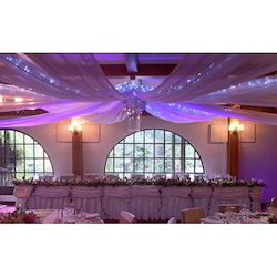 Ceiling Drapes And Wedding Gate Manufacturer From Mumbai