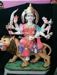 Maa Durga Marble Moorti