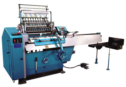 Semi Automatic Thread Book Sewing Machine At Rs 40 Piece Beauteous How To Use A Sewing Machine Book