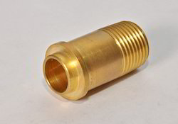 Golden Brass Gas Fitting, for Industrial