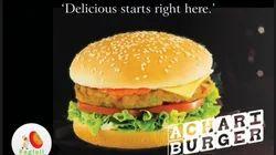 Achari Aloo Burger Patty Tikki