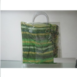 PVC Transparent Handle Bag