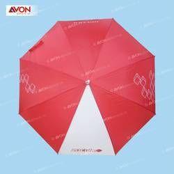 Red Wooden Umbrella