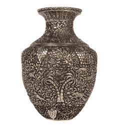 German Silver Fine Flower Vase
