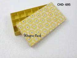 Floral Print Chocolate Box