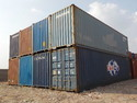 Galvanized Steel Cargo Shipping Containers, Capacity: 10-20 Ton, Length: 20 Feet
