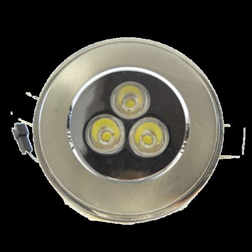 Power LED Lamps Aluminium High Recessed 3W Lightron D29EWHIY