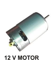 12 VDC Metal Fan Motor