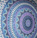 Indian Mandala Multi Colour Wall Hanging Decorative Tapestry
