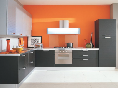 Matte Finish Modular Kitchen Kitchen Koncepts Manufacturer In