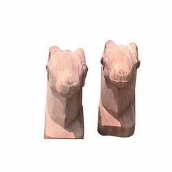Horse Head Animal Stone Statue