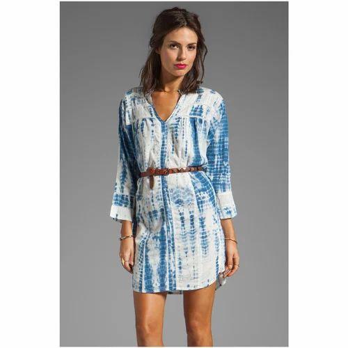 Tie Dye Shirt Dress for Women f5a8cd6fac