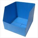 Pp Corrugated Box Stackable , Material Thickness : 1.5 - 8 Mm