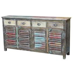 Jangid Art & Crafts Reclaimed Boat Wood Furniture