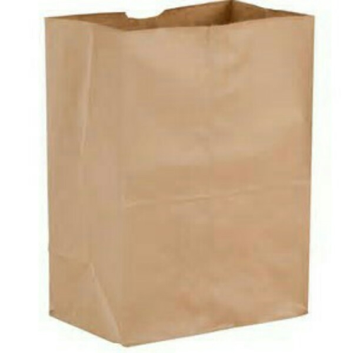brown plain handmade paper bag  rs 3   piece  rishabh paper