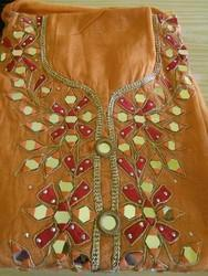 Mirror Work Dress Material