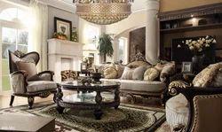 Ranburn Wooden Sofa set