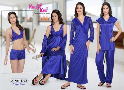 be927b149af Sexy Satin Night Suit 6 PC at Rs 799  pair(s)
