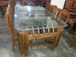 Glass Dining Table In Ernakulam Kerala Glass Dining