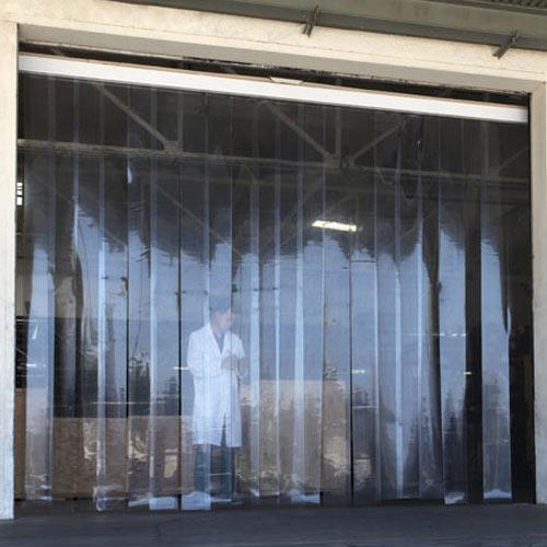 transparent & white clear pvc strip curtains, usage: hospital