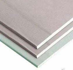 White Gypsum Board, Thickness: 12.5 mm