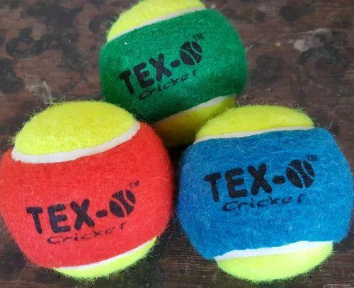 Multi Tex 0 Tennis Ball Double Color Rs 450 Dozen Metro Rubber