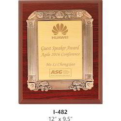 Wooden Trophies Certificate