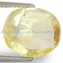 6.6 Carats Yellow Sapphire