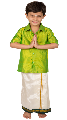 4a7fc76f6d6 Design Boys Dhoti Shawl And Shirt Set - Mb Incorporated