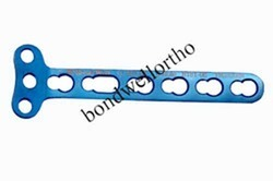 Orthopedic Implants T Right Angled Locking Plate 3.5mm