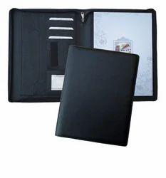 Black Leather Folder, For Official