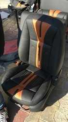 Brown Leather Elite Seat Cover