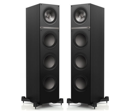 kef tower speakers. kef q700 tower speakers - black kef e