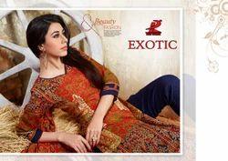 Exotic Pashmina Printed Suit