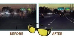 imported Male Night Vision Driving Glasses, Size: Basic
