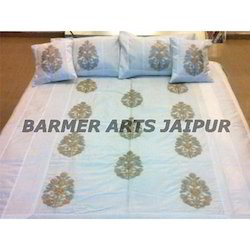 Silk Embroidery Bed Cover Samurai Boota