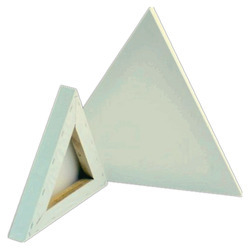 Triangle Shape Stretched Canvas