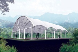 Membrane Tensile Roofing Structure