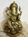 Copper Ganesh Statue, Packaging Type: Packed In Box