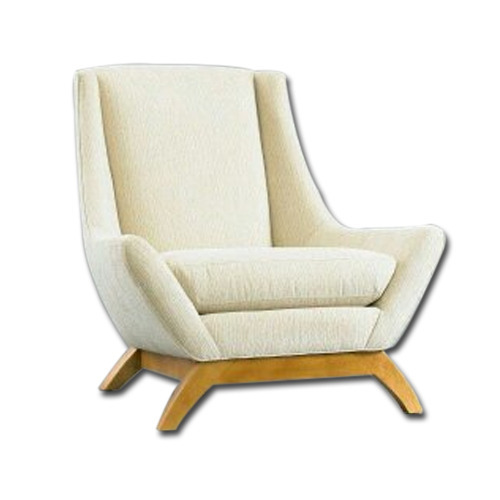 Marvelous White Single Sofa Chair Pabps2019 Chair Design Images Pabps2019Com