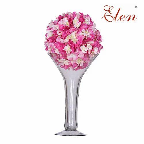 Elen Artificial Pink Flower Balls Rs 1582 Onwards Evergreen